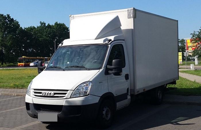 Iveco Daily - usługi transportowe Tomtrans