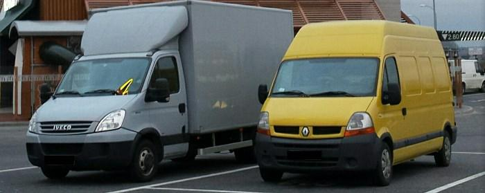 Iveco Daily i Renault Master - transport Warszawa, Tomtrans